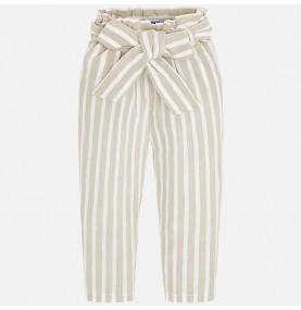 Pantalón largo fajín niña
