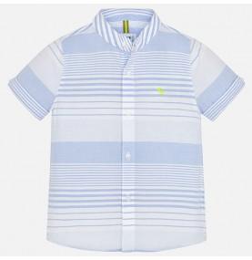 Camisa manga corta rayas niño