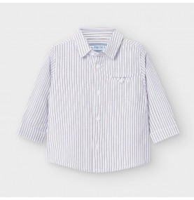 Camisa manga larga rayas...