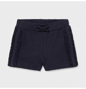 Pantalón corto punto bebé niña
