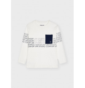 Camiseta manga larga scl niño