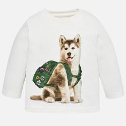 Camiseta manga larga husky...