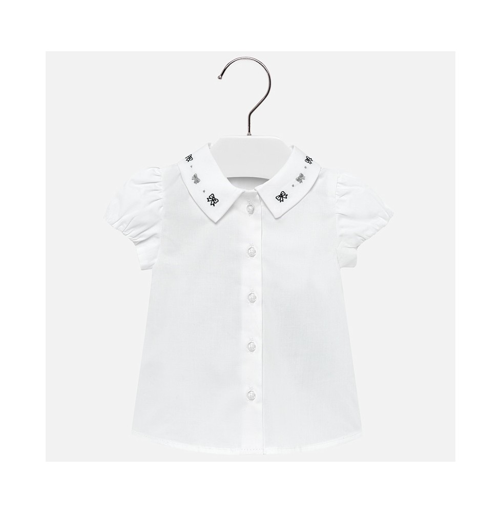9e1216868 Blusa mayoral cuello bordado bebé niña Art . 29-01113-046